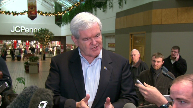 Gingrich defends Ron Paul critique
