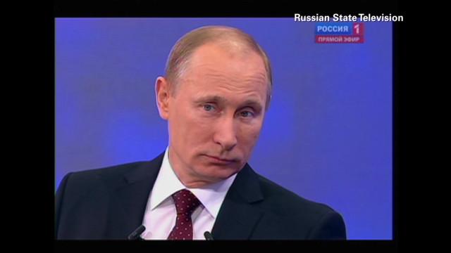 Vladimir Putin's rise to power