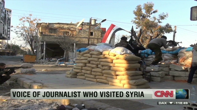 Journalist: Post-curfew deaths in Syria