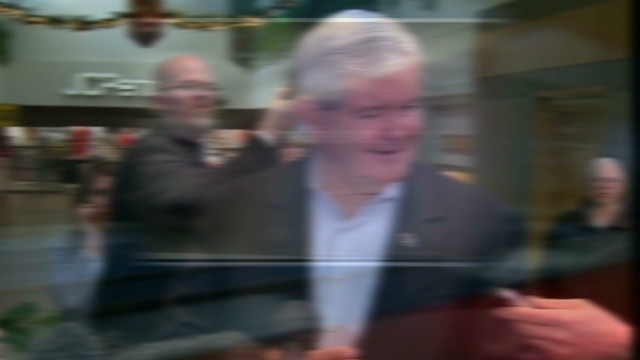 Gingrich staying positive