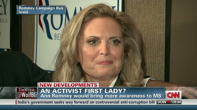 Ann Romney on coping with MS