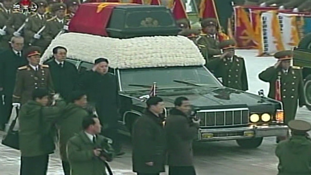 The funeral of Kim Jong Il