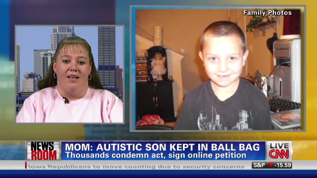 Mom: Autistic son put in a ball bag