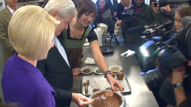 Newt Gingrich and the chocolate factory