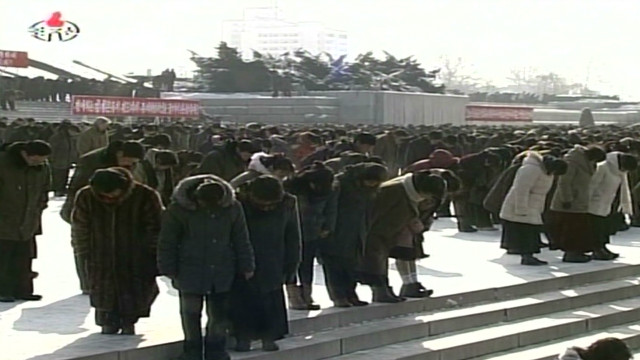 Kim Jong Il's final farewell