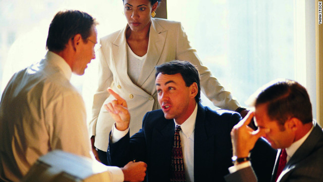 Having an enemy in the workplace can make things awkward for the entire office.