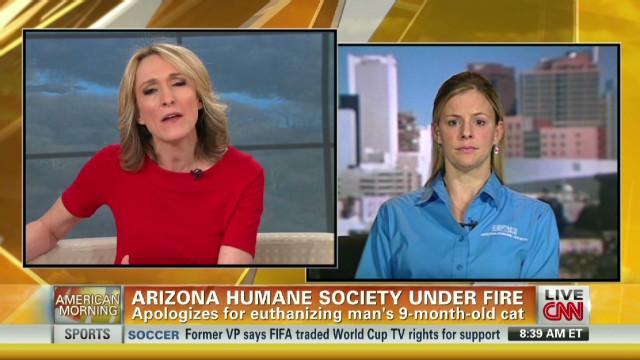 Cat euthanization under fire in Arizona