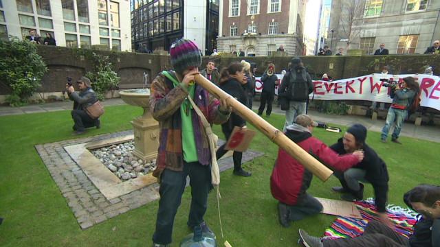 Occupy London still standing