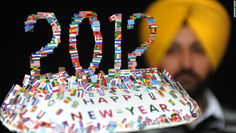 Revelers around the world celebrated the end of 2011 and the start of 2012.