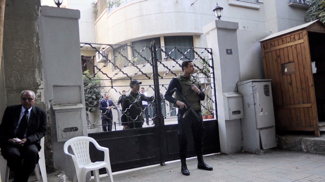 Egyptian police raid NGO offices