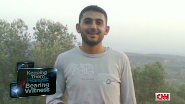 Syria man records his own death