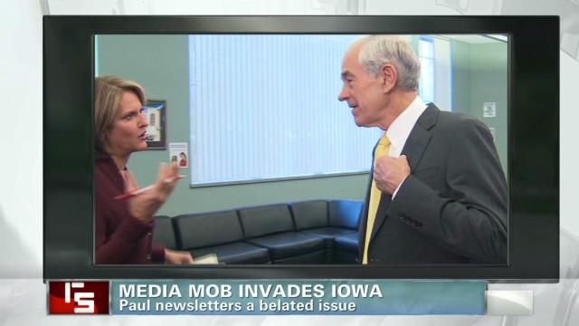 Media invades Iowa