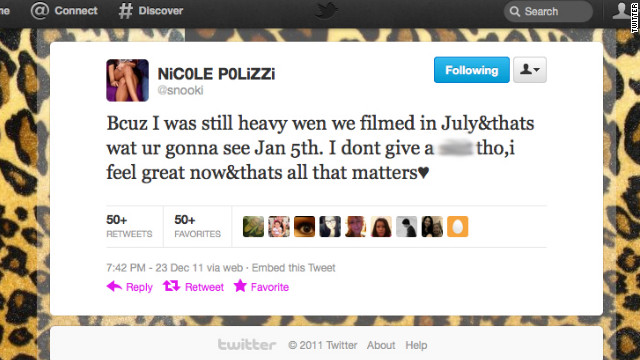 """Jersey Shore's"" Snooki is just one of many Twitter users who are gramatically challenged."