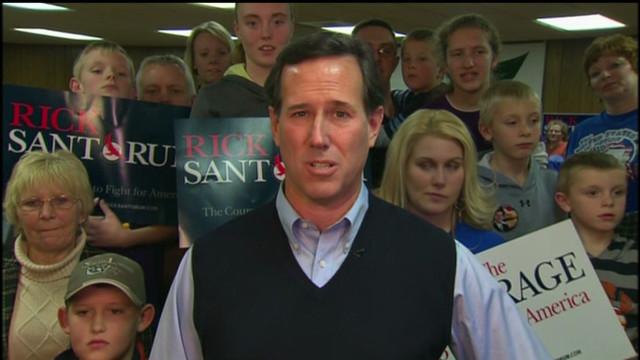 Santorum explains 2008 Romney backing