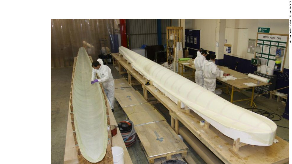 The Vestas Sailrocket 2 was lauched early last year after being constructed in England.