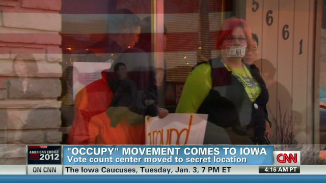 'Occupy' movement comes to Iowa