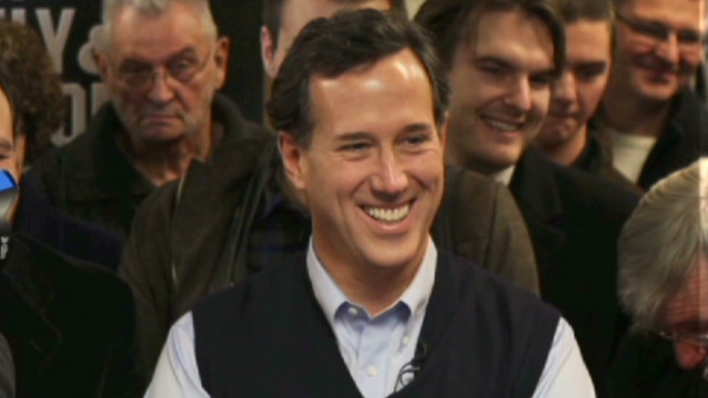 Santorum goes sleeveless