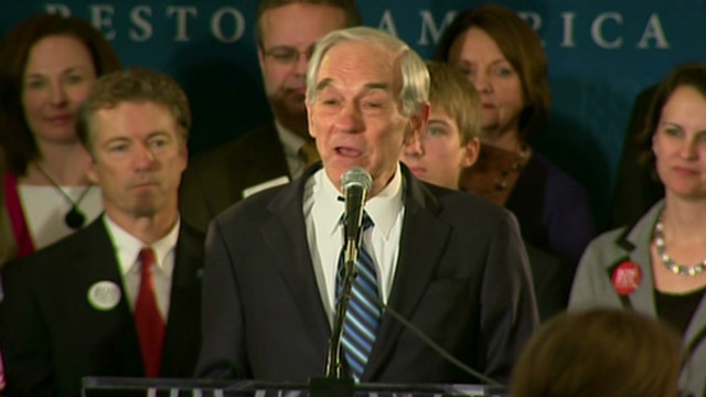 Ron Paul projected third in Iowa