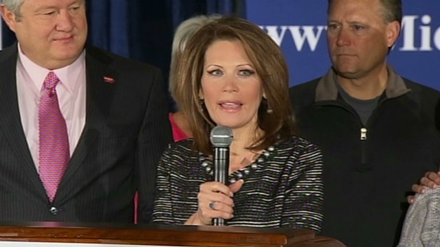 Bachmann will 'stand aside'