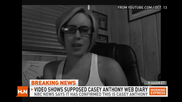 Possible Casey Anthony video diary