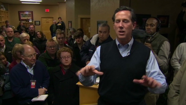 Santorum:  Obama wants more dependency