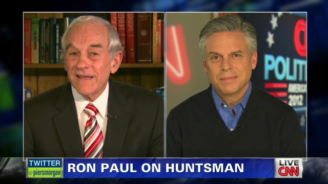 Ron Paul defends Huntsman tweet