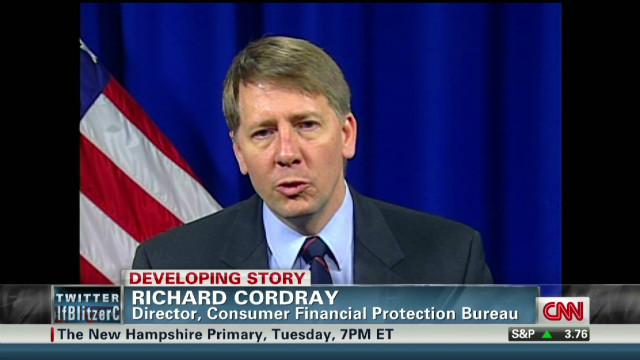 Cordray: I want to work for consumers