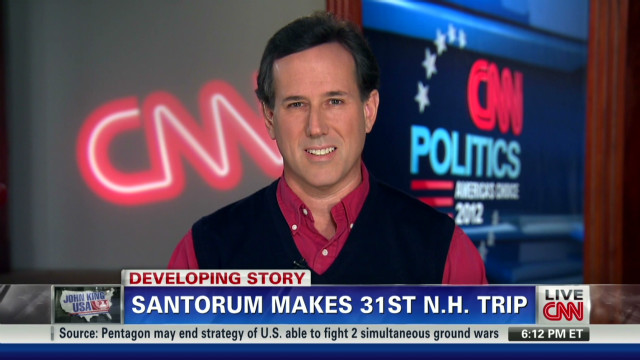Santorum explains controversial remarks