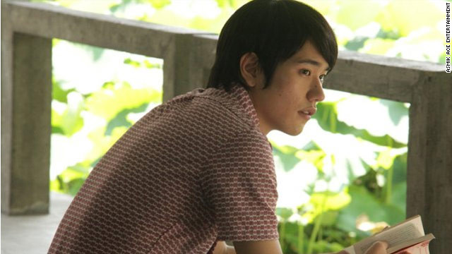 "Ken'ichi Matsuyama stars as Toru Watanabe in the Japanese film ""Norwegian Wood,"" based on the Haruki Murakami novel ."