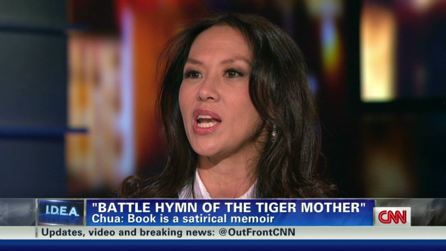2012: Tiger Mom author Amy Chua