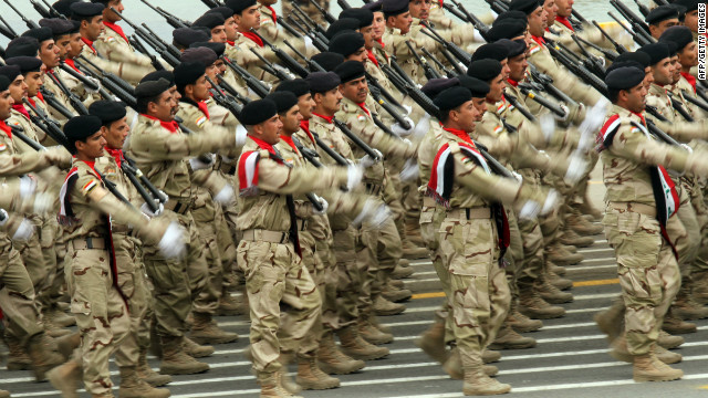 Iraq Army targeted by extremists