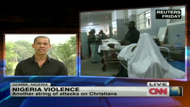 Religious violence escalates in Nigeria