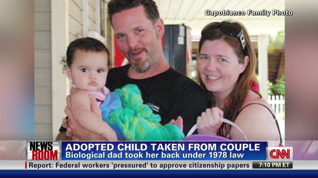 Adoption controversy