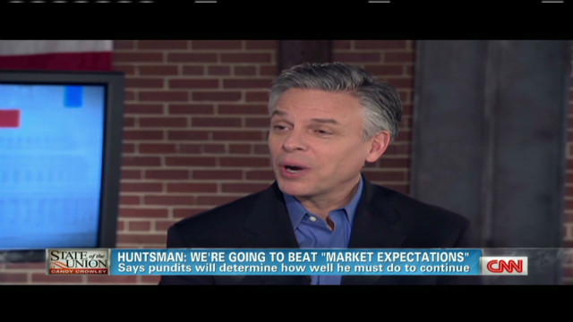 "Huntsman: ""We have to show big"""