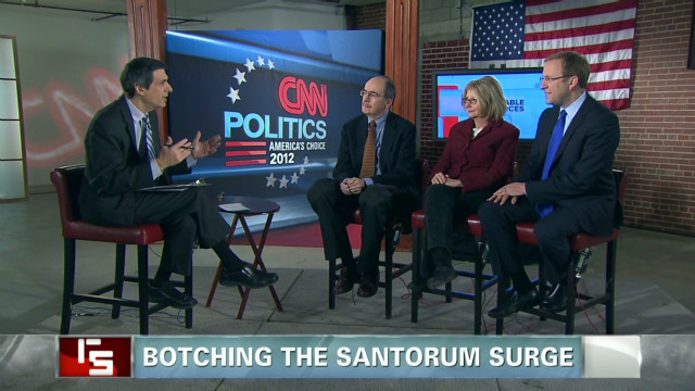 Botching the Santorum surge