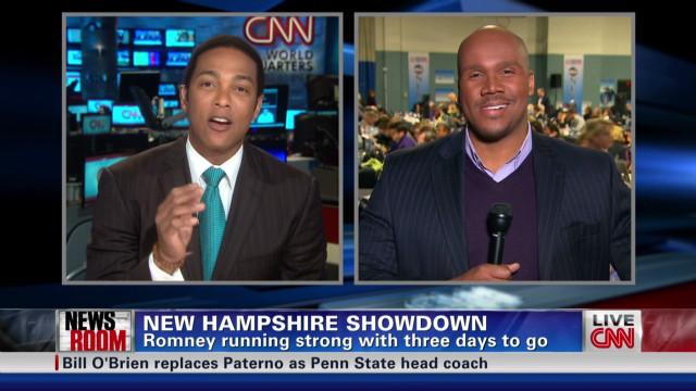 GOP showdown in New Hampshire
