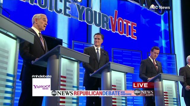 Debate in New Hampshire