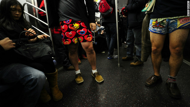 Train passengers will be missing a key article of clothing on Sunday.