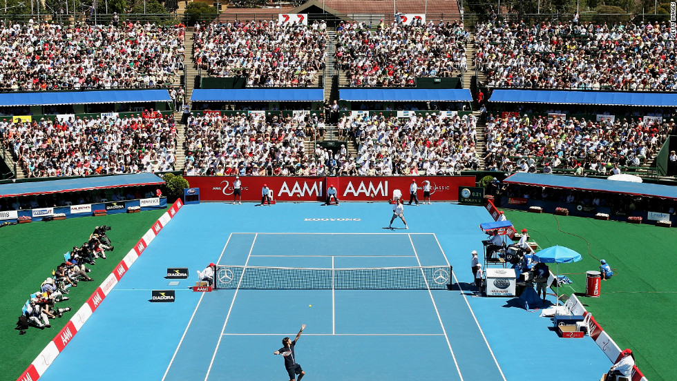 The Australian Open has had many different homes since the first tournament in 1905. Five cities have played host, with two events also played in New Zealand. Melbourne's Kooyong Lawn Tennis Club became the permanent site in 1972, before the current venue at Melbourne Park was built specifically for the tournament in 1988.