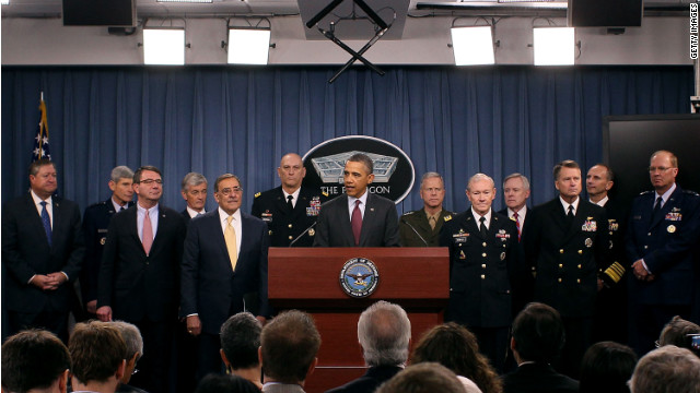 President Barack Obama at the Pentagon last Thursday, where he announced new spending priorities for defense.