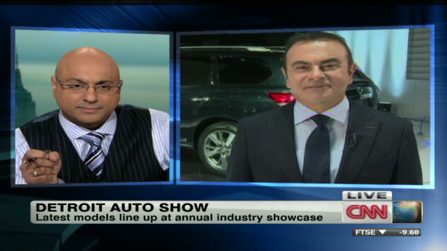 Nissan CEO: Optimistic about 2012