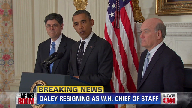 Obama's chief of staff resigns