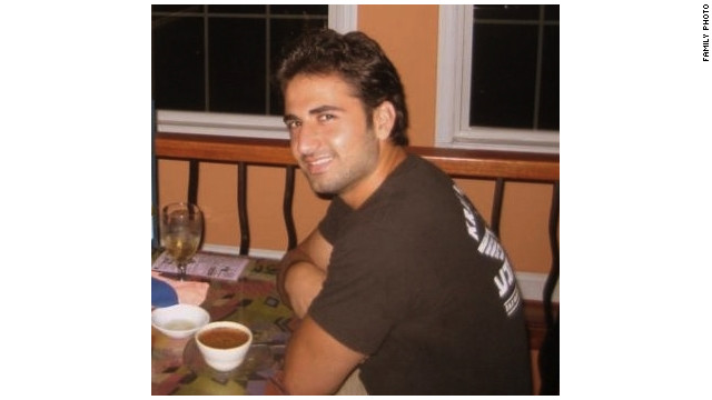 American Amir Mirzaei Hekmati, seen in a family photo, no longer faces the death penalty in Iran.
