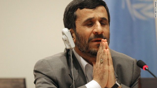 Iranian President Mahmoud Ahmedinejad: Is there a chance now for him to engage with America?