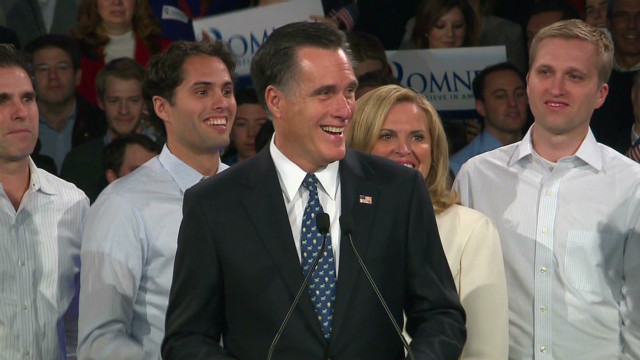 Romney: We made history tonight