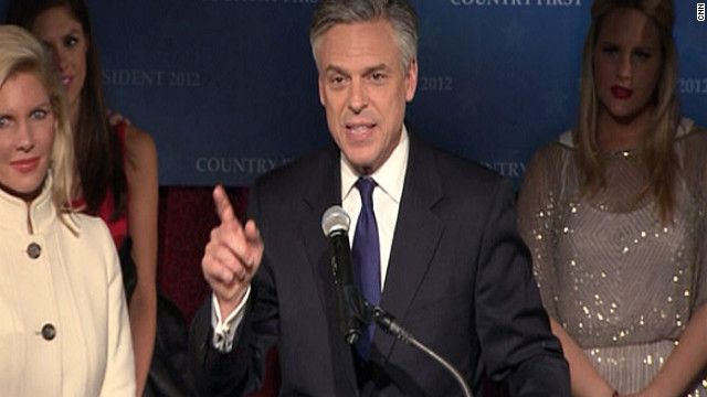 Former Utah Gov. Jon Huntsman spent most of his resources in New Hampshire, where he finished third in that state's primary.