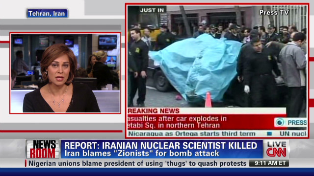 Iranian nuclear scientist killed