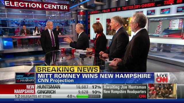 Gergen: Romney's N.H. speech memorable