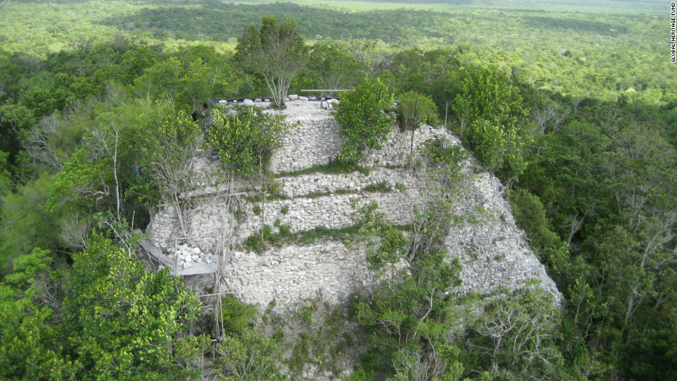 "The Global Heritage Fund has named 2012 ""The Year of the Maya,"" -- the Maya calendar points to December 2012 as the dawn of a new age. La Danta pyramid, at El Mirador in Guatemala, is one of the sites which the Global Heritage Fund is fighting to protect."