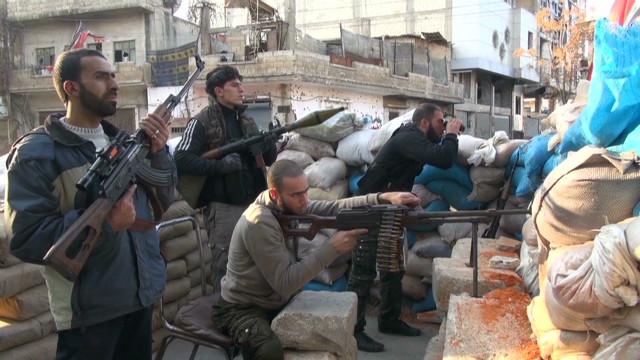 Filmmaker spotlights defiance in Homs